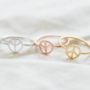 peace ring,peace sign ring,peace si..