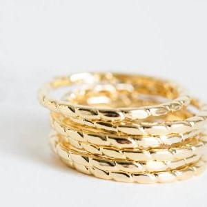 snake pattern knuckle ring,stacked ..