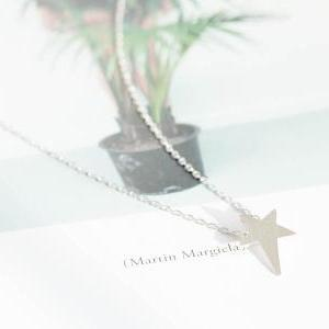 cute star necklace,anniversary neck..