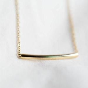 round bar necklace ,jewelry,necklac..