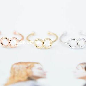 Infinity knuckle ring,jewelry rings..