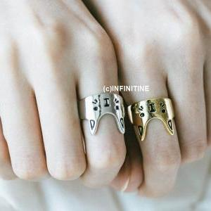 Cute mother cat ring,RN2537