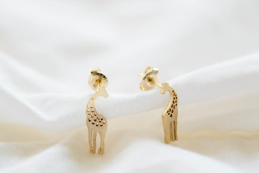 Cute Giraffe Earrings,Jewelry,Earrings,Studs,giraffe Earrings,gold ...