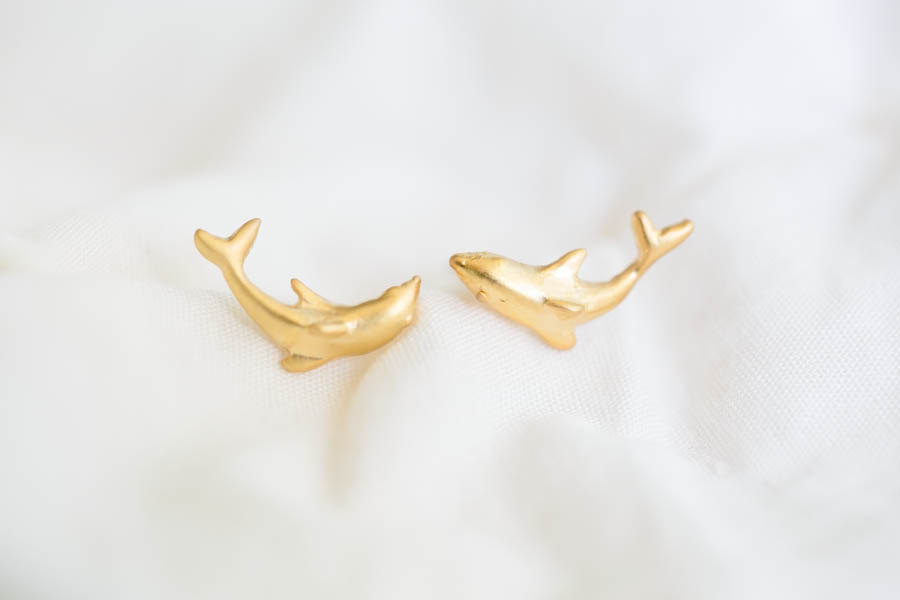 dolphin earrings/animal earrings/cute earrings,E054R