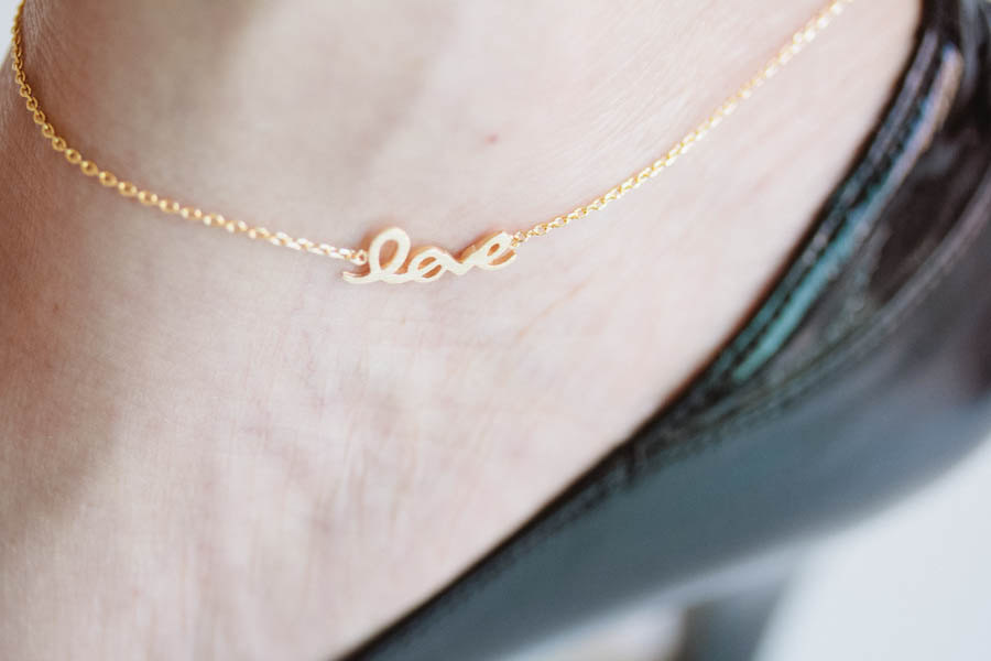 anklet inc gold personalized name br jewelry boutique