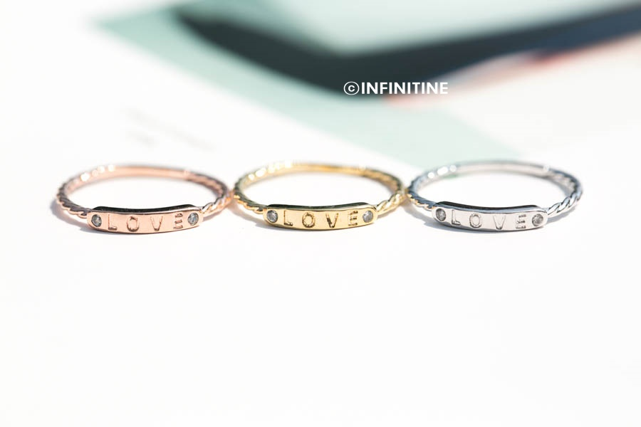 Love Letter Bar Ring,womens Rings,couple Rings,unique Rings ...