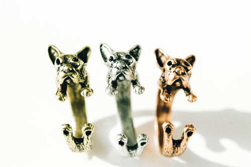 French bulldog ring,animal ring,adjustable ring,mens ring,knuckle ring,bulldog jewelry,cute ring,stretch ring,mens ring,