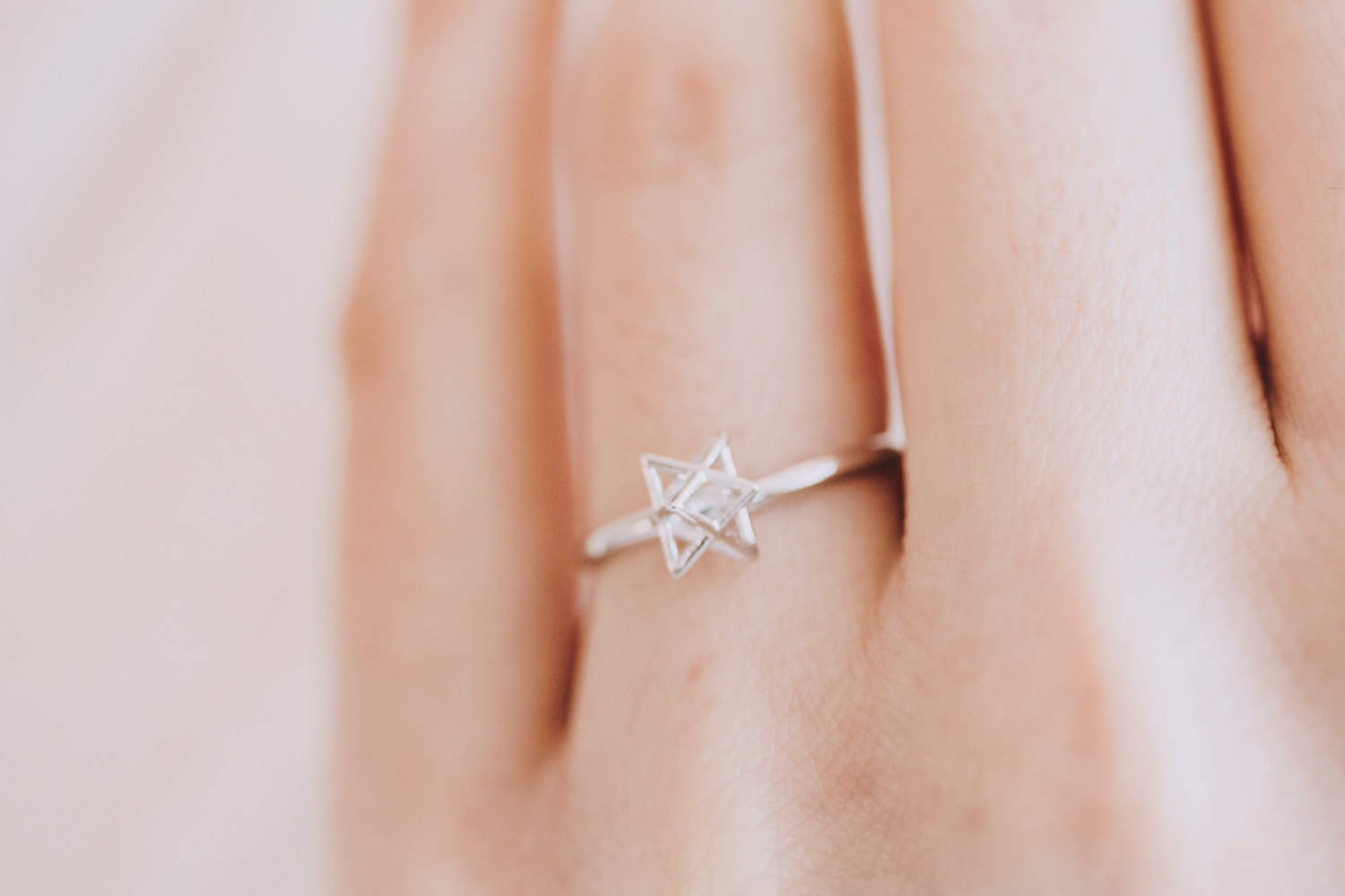 knot star ring/unique ring/adjustable ring/knuckle ring/stretch